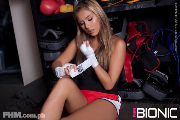 Erica Juliet FHM Bionic Girl