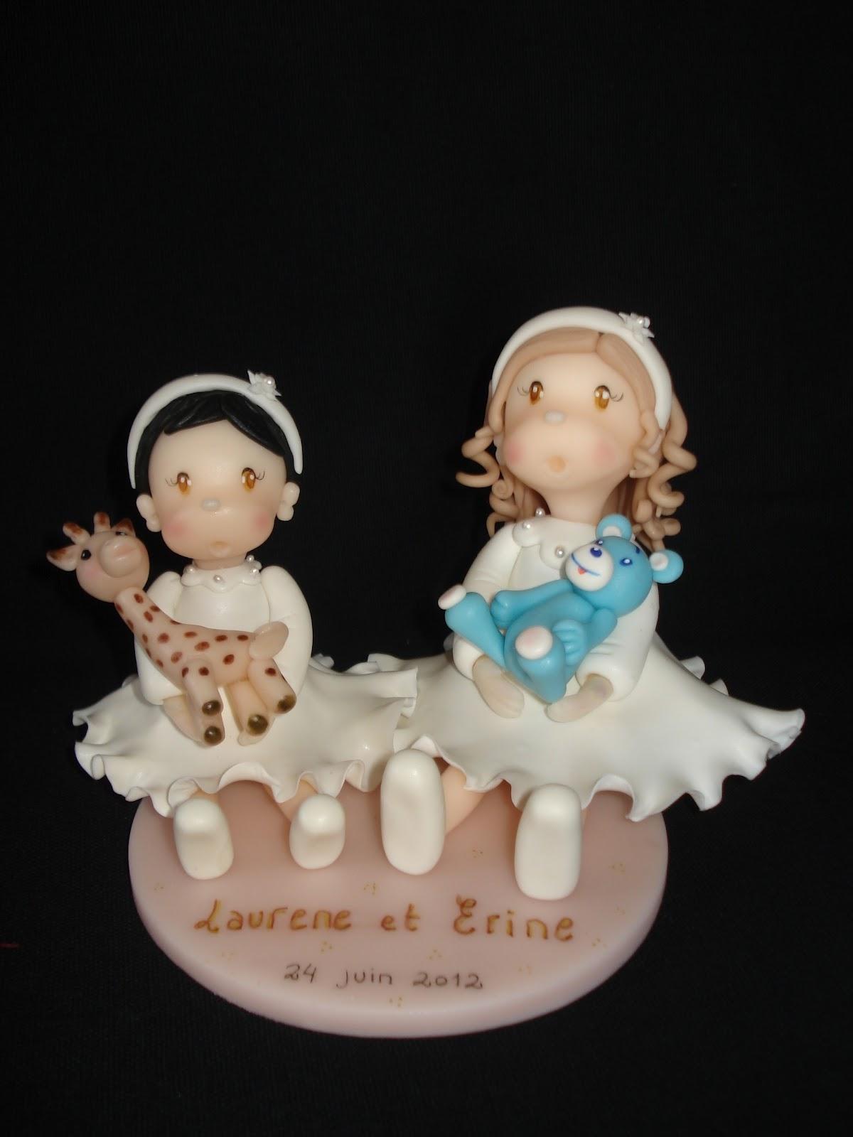 happy deco gateaux figurines personnalis es en porcelaine froide enti rement model es la main. Black Bedroom Furniture Sets. Home Design Ideas