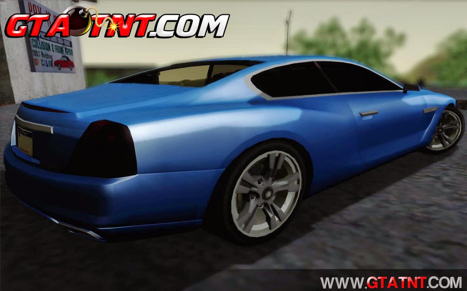 Alpha - DLC Business Convertido do GTA V para GTA San Andreas