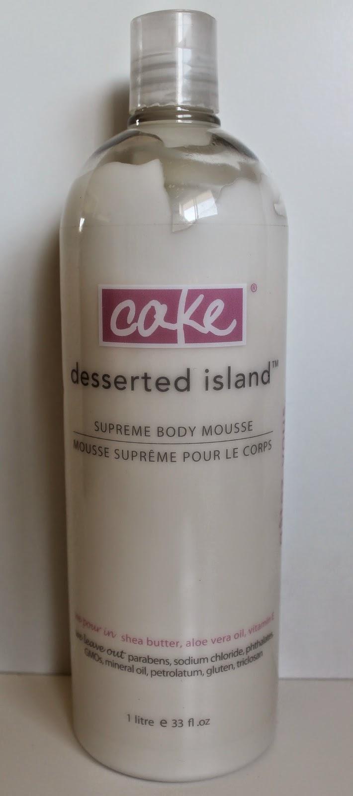 Mousse suprême pour le corps Cake Beauty