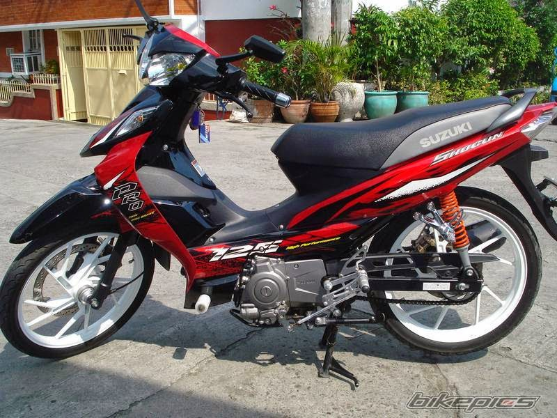 modifikasi suzuki shogun sp standar