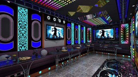 thi cong phong karaoke