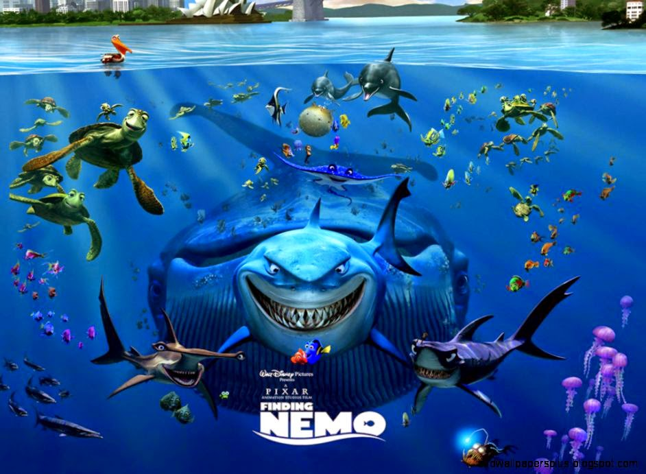 Finding Nemo 3d Wallpapers Hd Wallpapers Plus