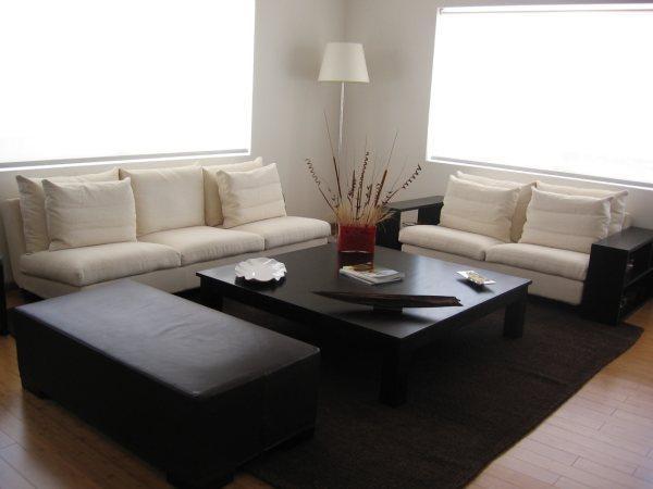 Decoraci n minimalista y contempor nea sala minimalista for Decoracion estilo minimalista casa