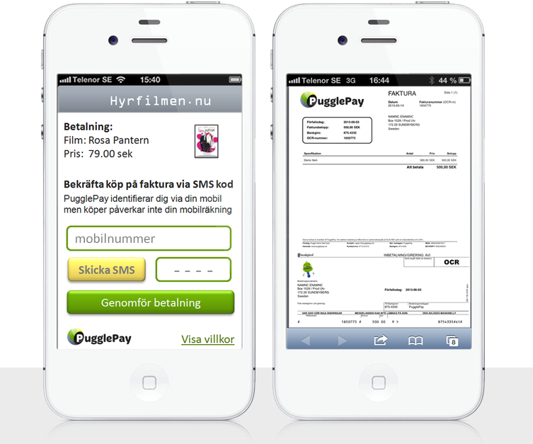 PugglePay Account Deposit Screen