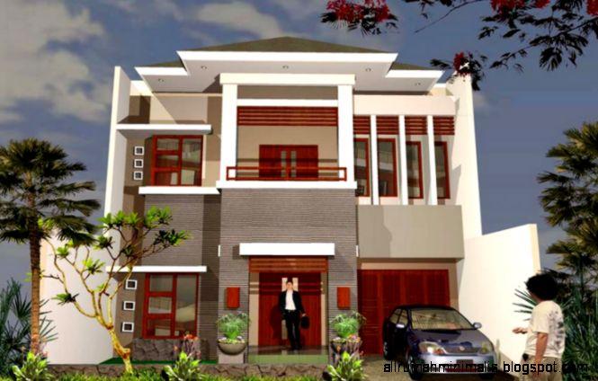 20 Model Gambar Rumah 2 Lantai Minimalis Modern Terbaru 2015