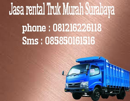 Jasa Rental Truk Murah Surabaya-Pacitan
