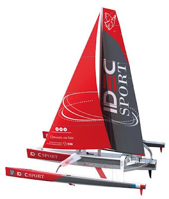 Nouveau Idec Sport de Francis Joyon : l'ex Banque Populaire VII. En route pour le Jules Verne dès 2015 !
