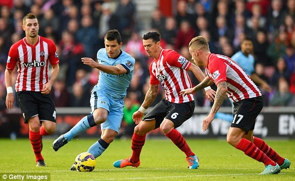 VIDEO Southampton Manchester City 0-3 gol highlights Premier League con un grande Aguero