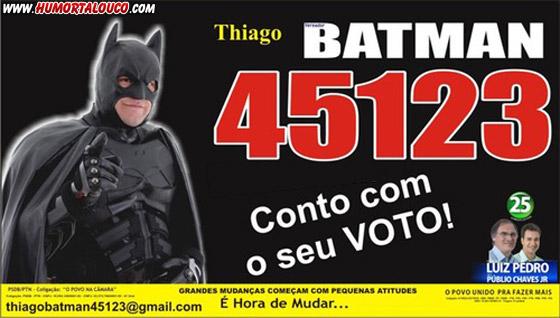 Candidatos Bizarros das eleições 2012 [Parte 03] - Batman 45123