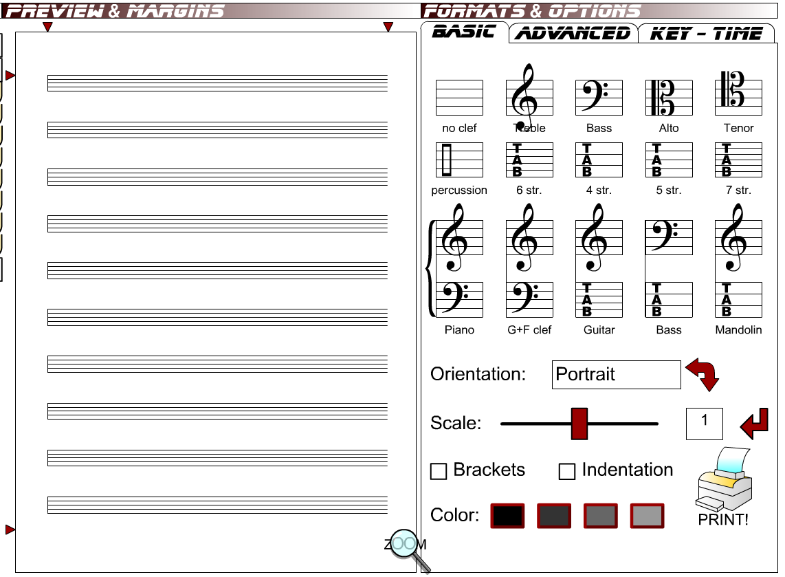 ... printable blank staff paper here is a cool resource blank sheet music