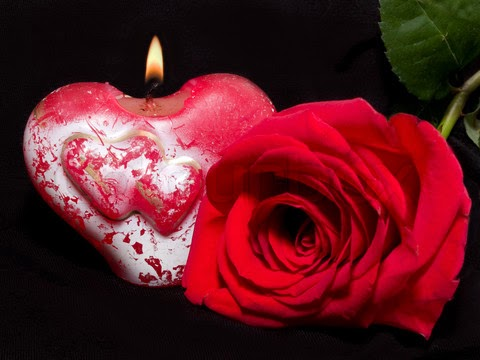 Candles and Red Roses - HD Wallpapers Blog