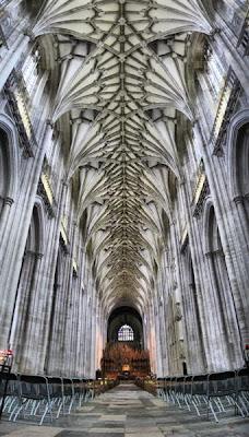 Nave central de la Catedral de Winchester