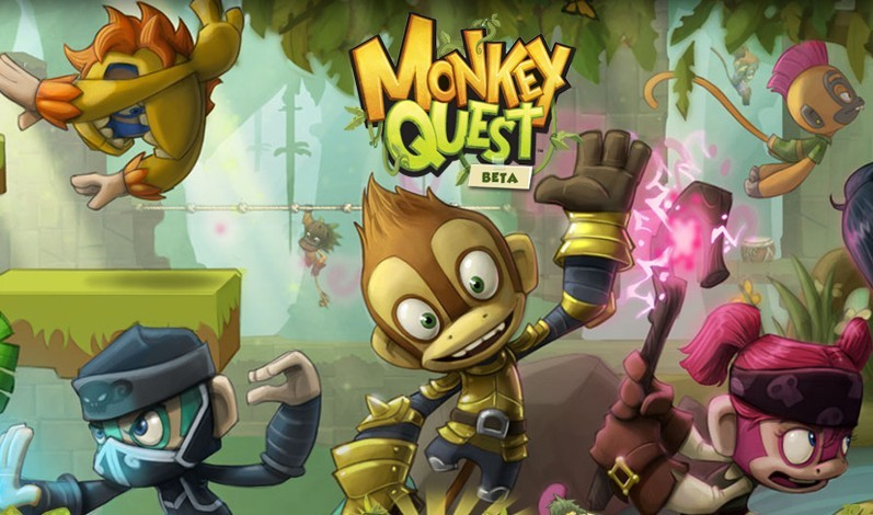 Play Online Game Monkey Quest