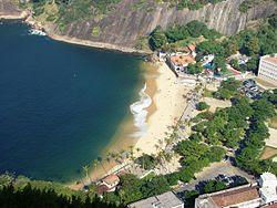 Imagens da Praia Vermelha no Rio de Janeiro (Fotos)