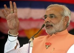 Bharatiya Janata Party's Prime Ministerial candidate Narendra Modi