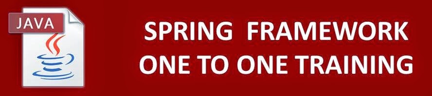 spring framework training in velachery