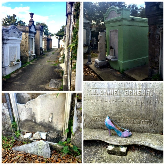The Holland House: Lafayette Cemetery