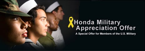 Ed Voyles Honda Honors Military Service with Special Military Appreciation Offer