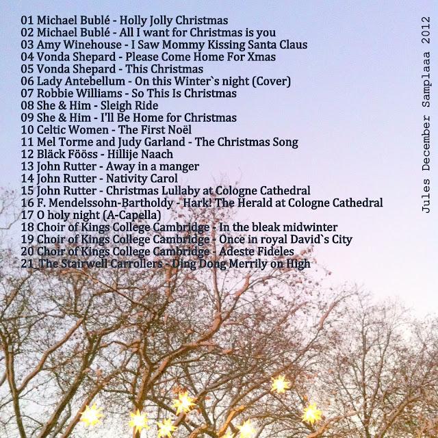 Jules December Samplaaa 2012