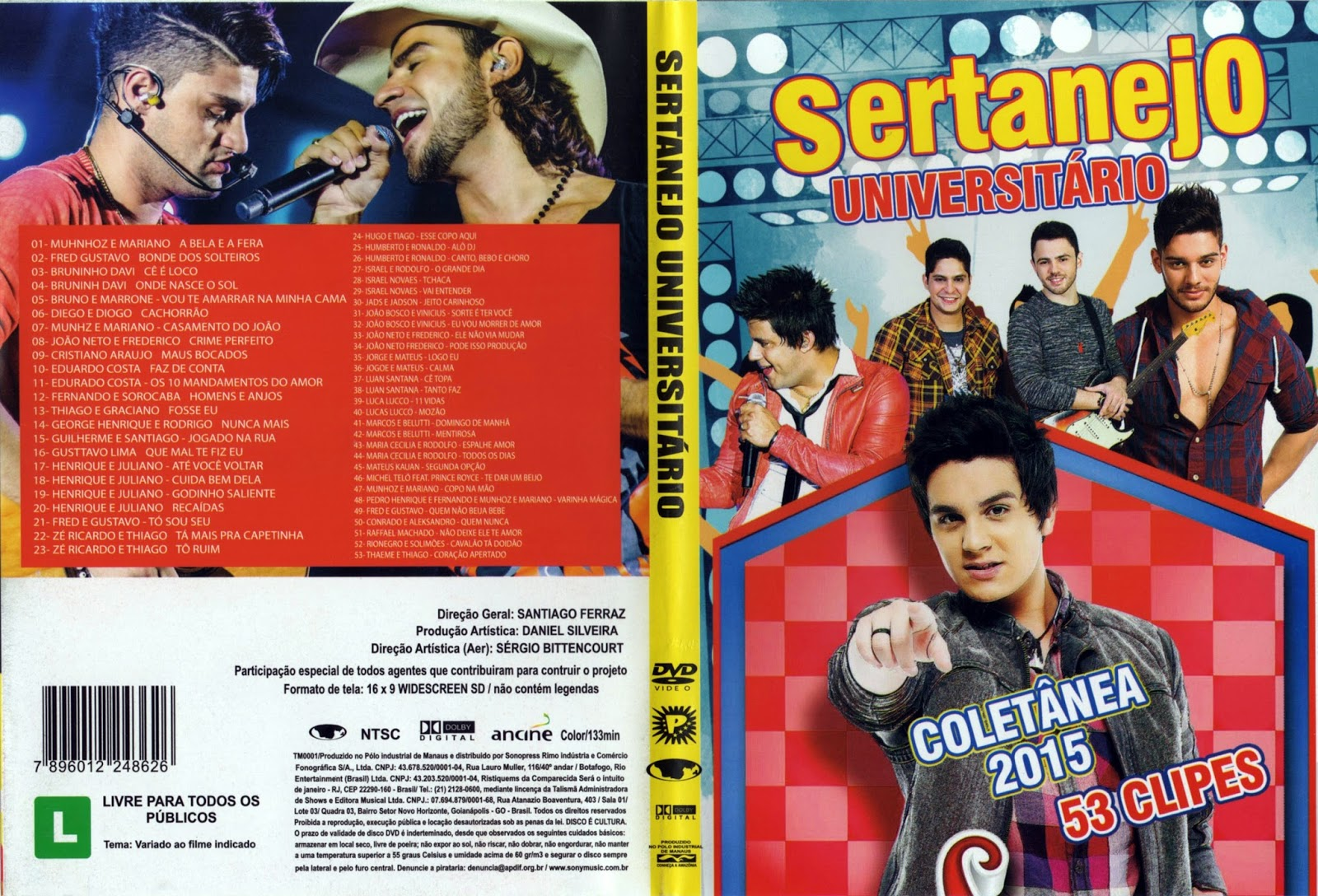 DVD Sertanejo Universitário 2015