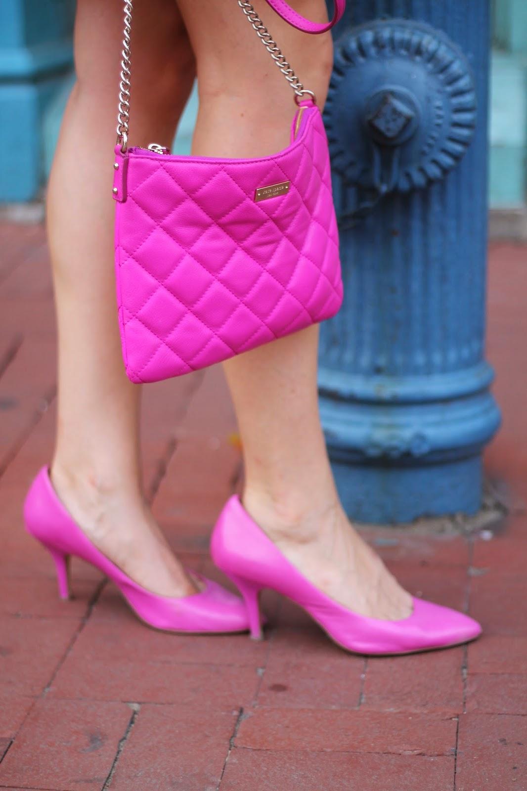 hot, pink, heels