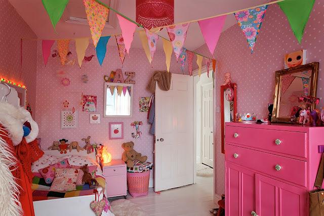 quarto menina rosa