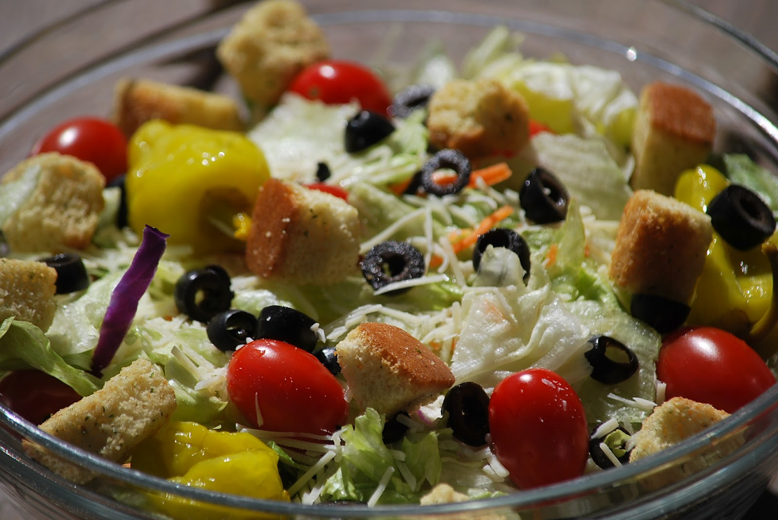 My story in recipes: Olive Garden Dressing