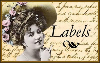 banner vintage labels