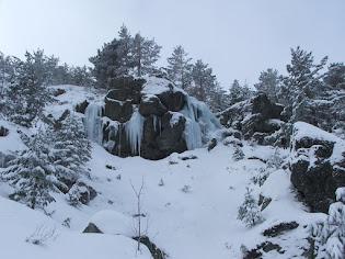 Cascadas de hielo en Neila