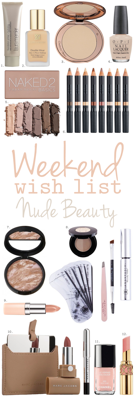 Weekend Wish List – Nude Beauty