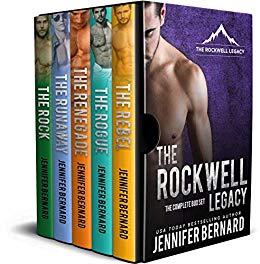 The Rockwell Legacy Complete Box Set by Jennifer Bernard (CR)