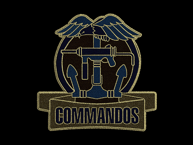 Commandos Behind Enemy Lines logo badge