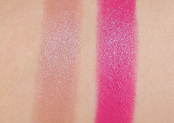 Rain Cosmetics Glam Lipstick swatches