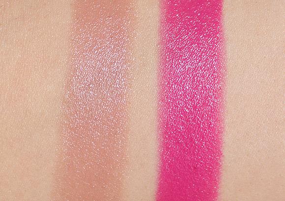 Rain Cosmetics Glam Lipstick swatches