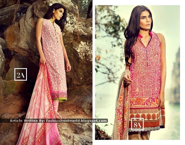 Sana Safinaz Summer Clothing