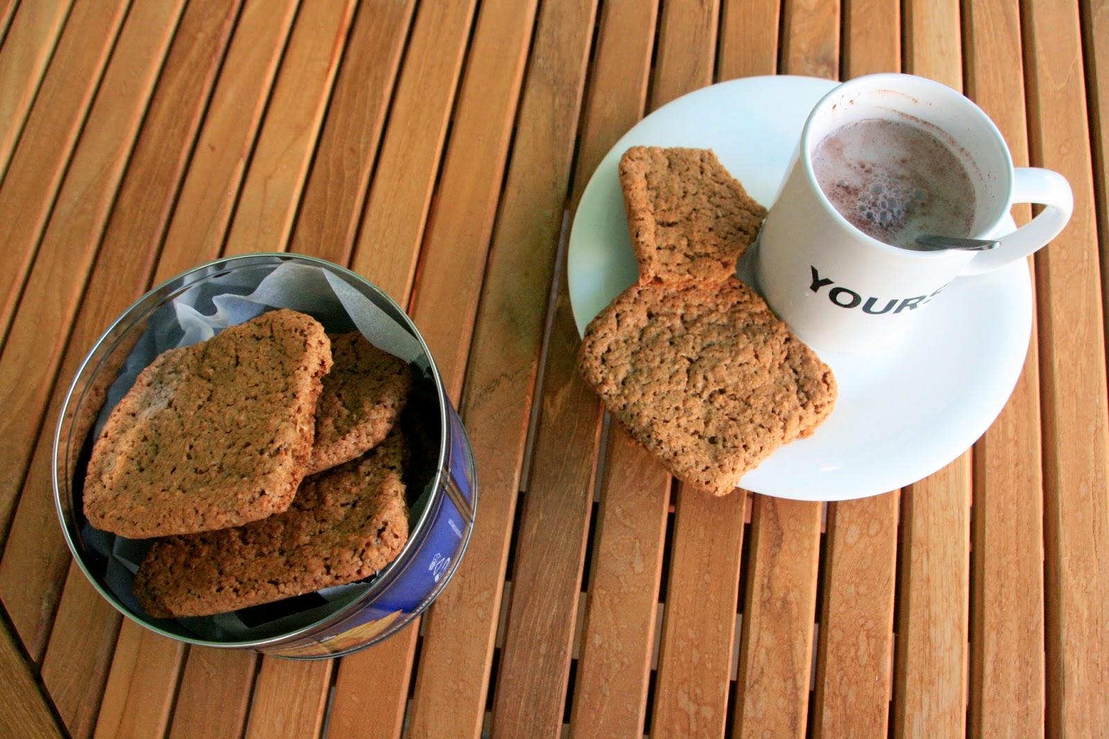 Galletas de avena para desayunar