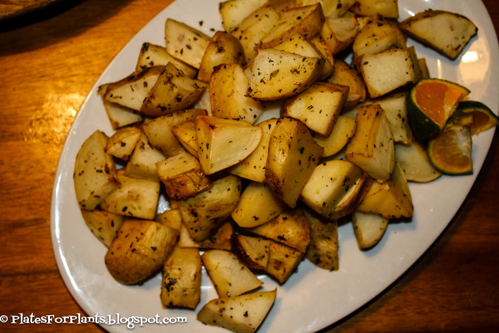 ahead and makes recipes ahead of time. These lemon roasted potatoes ...