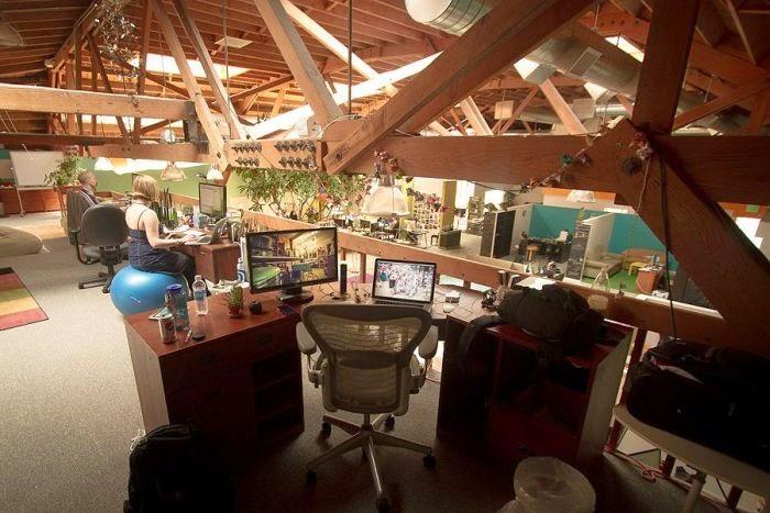 oficinas espectaculares, CoachSurfing, San Francisco