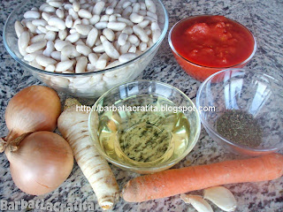 Fasole batuta-Fasole facaluita ingrediente reteta