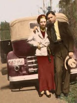 Bonnie Parker & Clyde Barrow's 1934 Ford V-8 Sedan ~