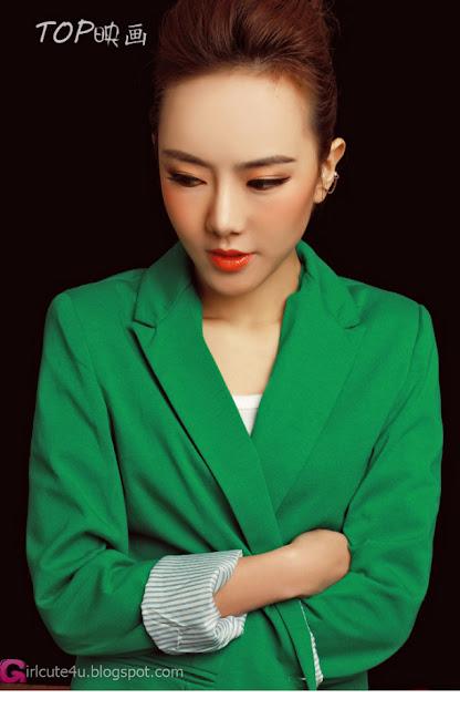 3 Wanni - Green-Very cute asian girl - girlcute4u.blogspot.com
