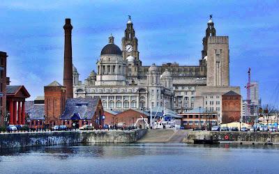 Una vista de Liverpool