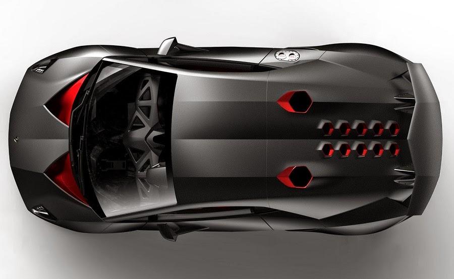 Gambar Lamborghini Sesto Elemento from top