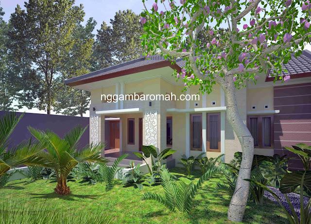 Perpaduan Arsitektur Artdeco & Minimalis, Rumah Bpk. Saryoko di Blitar