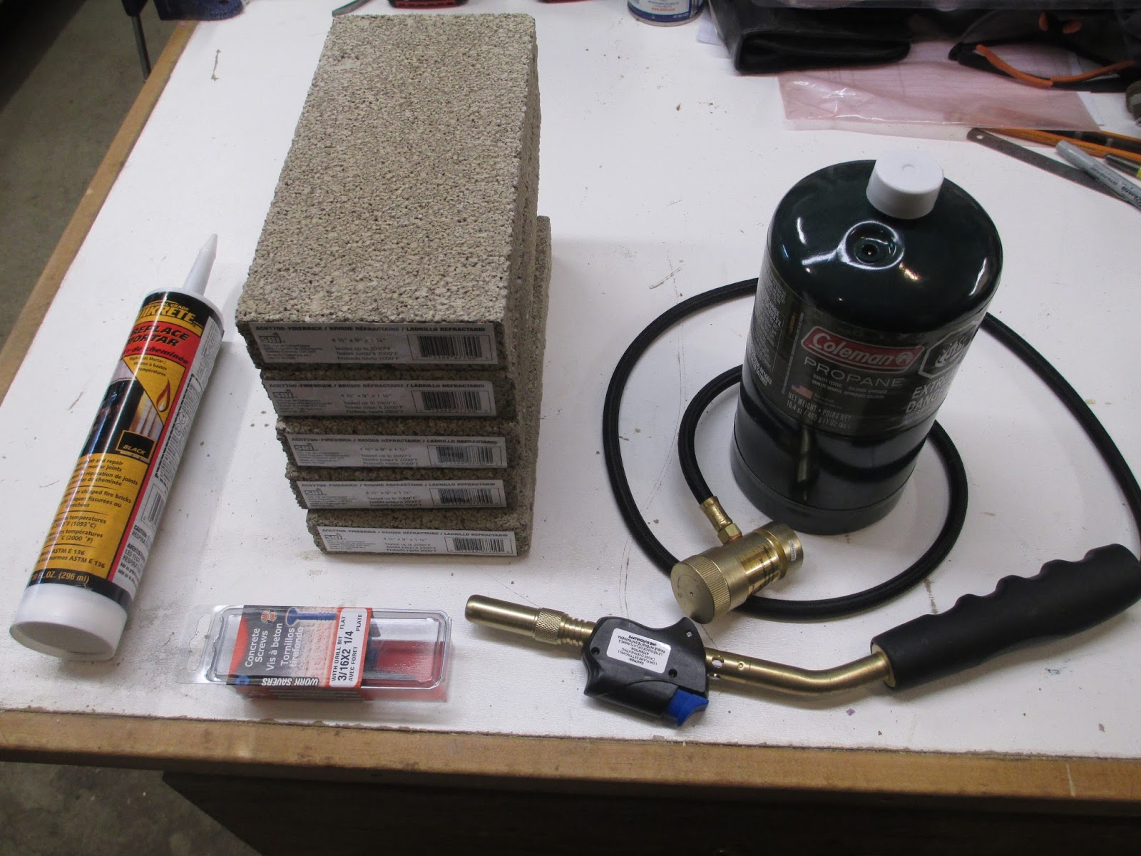 Diy Knifemaker S Info Center Gas Mini Forge