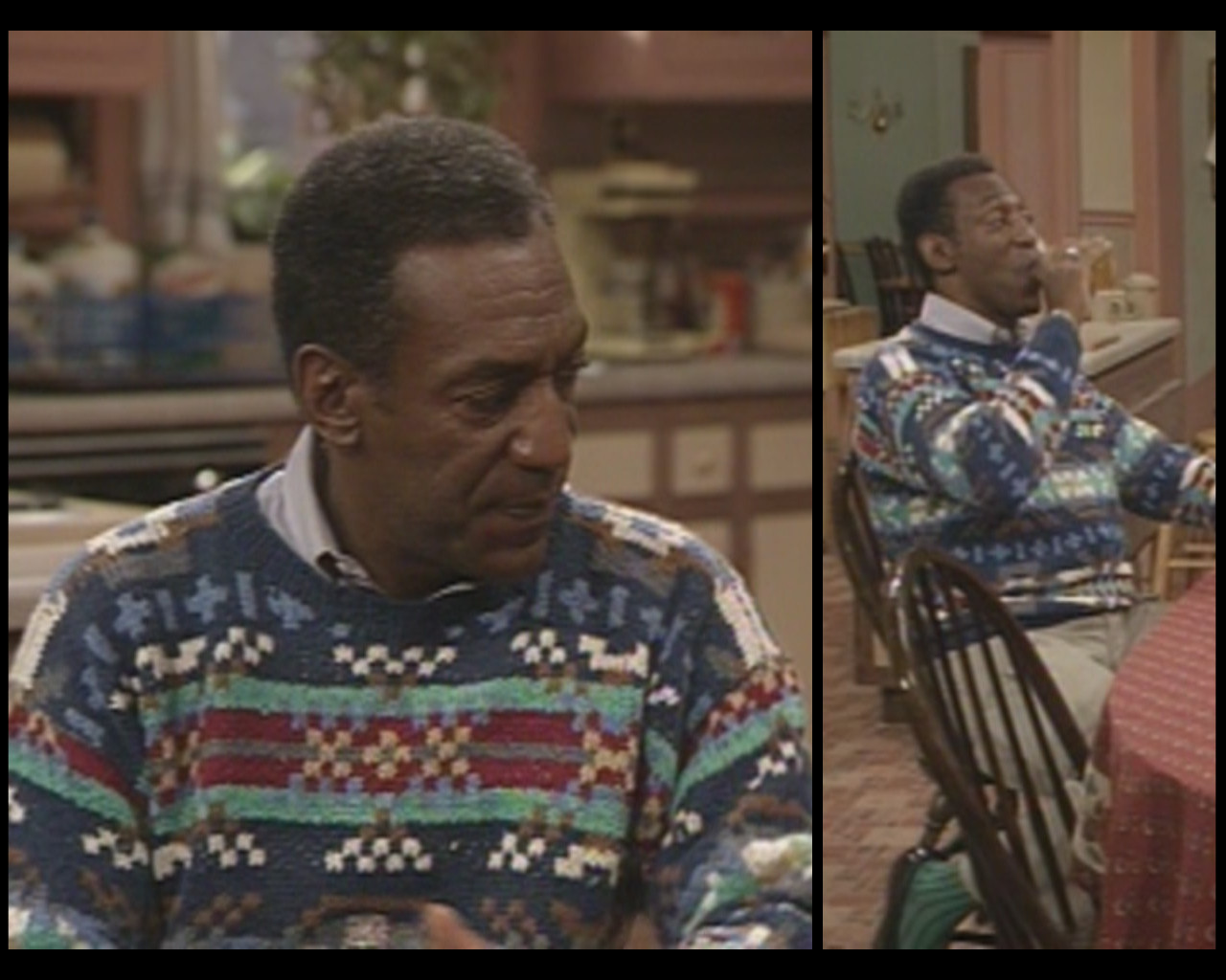 Bill Cosby Striped Sweater