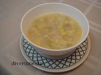 sweetcorn potato soup