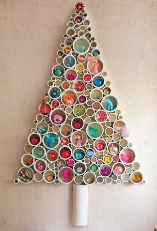 Art i cosetes diy como hacer un rbol de navidad con - Como se adorna un arbol de navidad ...