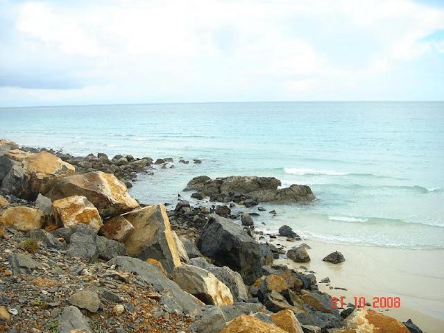 Paysages séduisantes de l'île de Con Dao